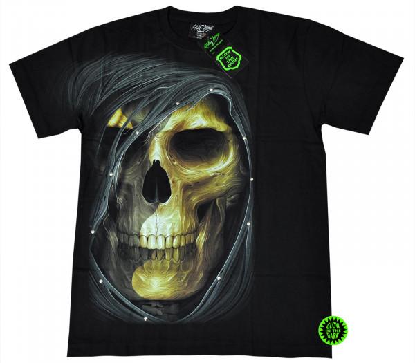 Death Hood Rivet Glow Front