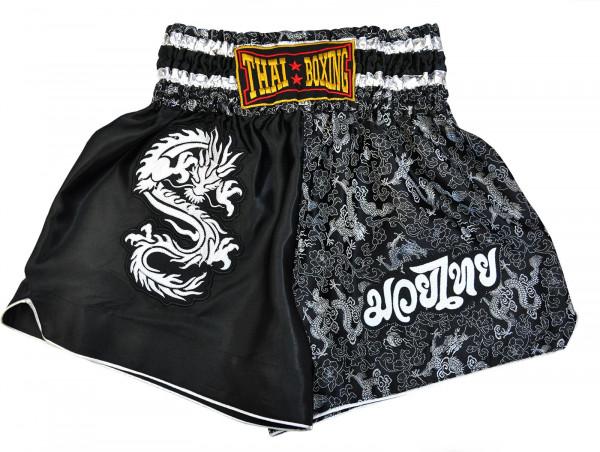 Muay Thai Boxing Shorts Black