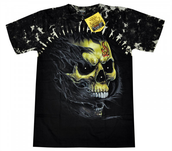 Skull Scream Rivet Front