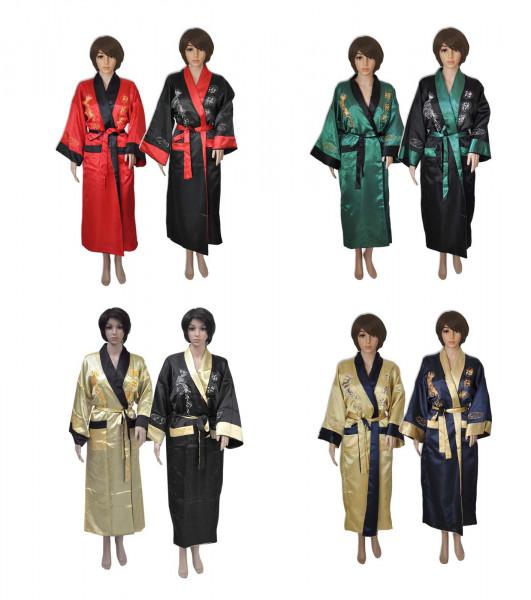 Kimono wendbar für Damen und Herren Übersicht